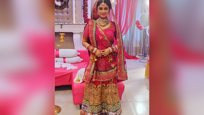 Kumkum Bhagya's Disha gives some fashion inspiration to the brides to be