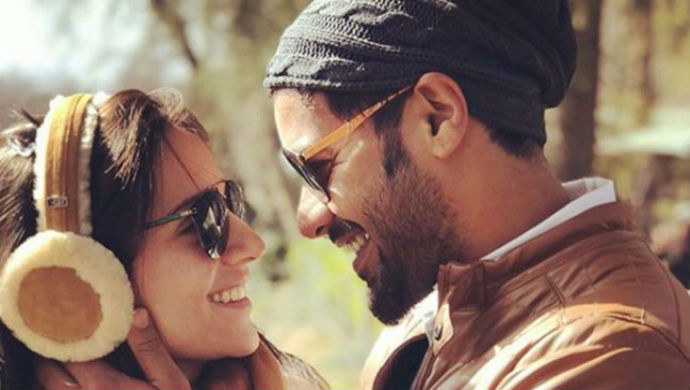 Picture Of Television Actors Shabir Ahluwalia And Kanchi Kaul