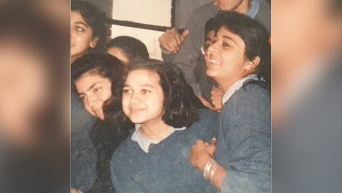 Supriya Shukla childhood picture