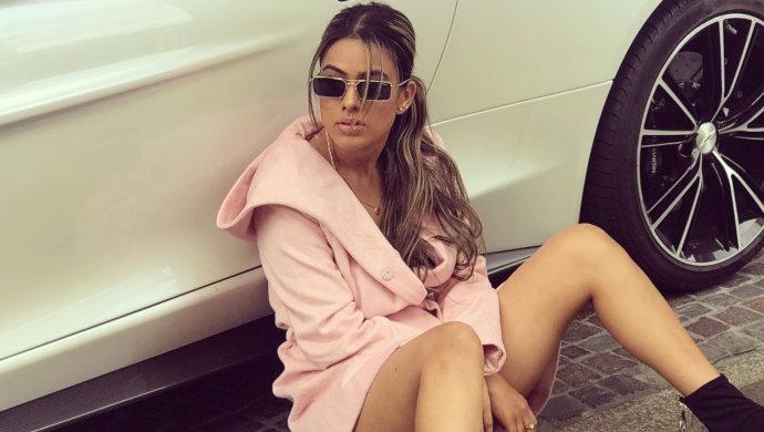 Nia-Sharma-millennial-pink-outfits