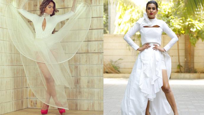 Nia-Sharma-all-white-outfits