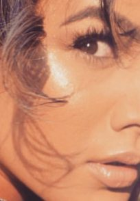 Nia Sharma's eyeliner game.
