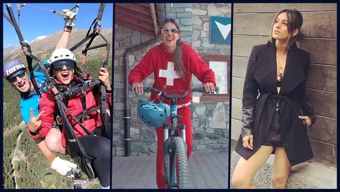Nia Sharma's Switzerland vacation.
