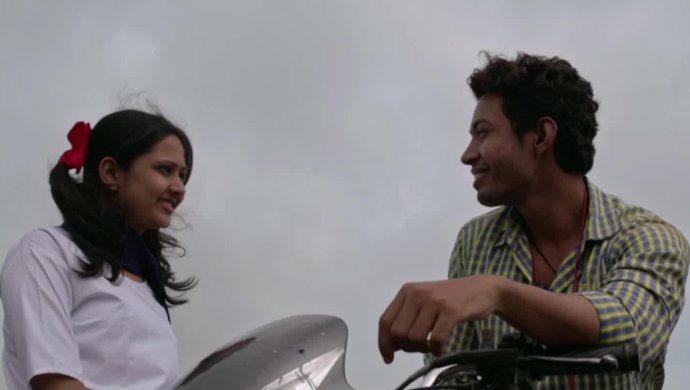 A still from the film starring Ashwini Ladekar