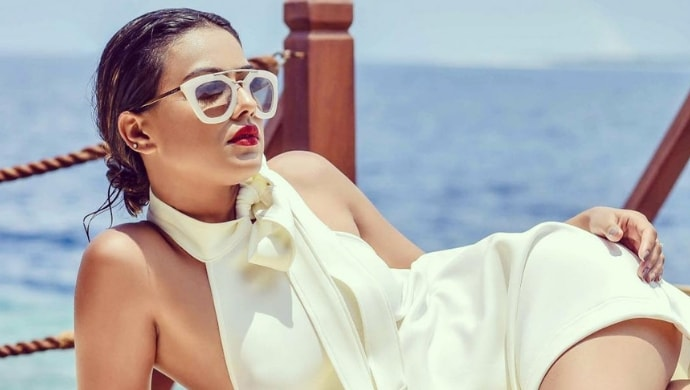 Sunglasses From Nia Sharma's Collection.