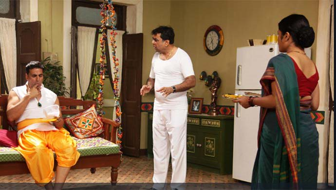 Paresh Rawal And Akshay Kumar In Oh My God!