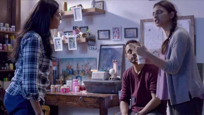Radhika Apte And Nivedita Bhattacharya In A Scene From Phobia