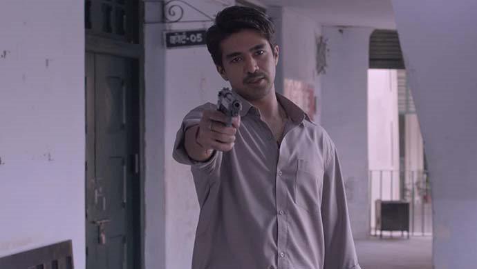 Saqib Saleem In A Shootout Scene From Rangbaaz