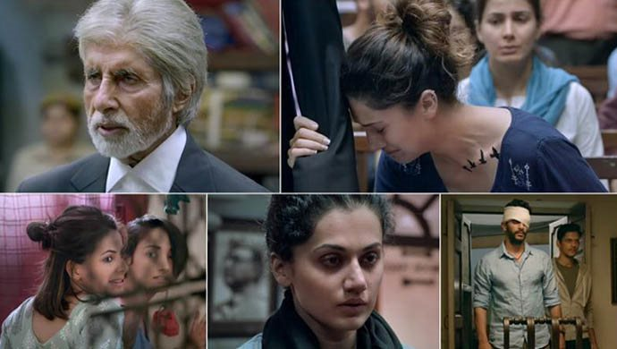 Taapsee Pannu And Amitabh Bachchan From Pink