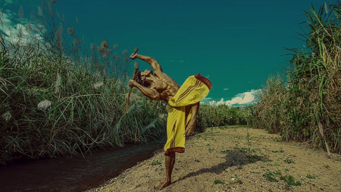 Vidyut Jammwal Practicing Kalaripayattu