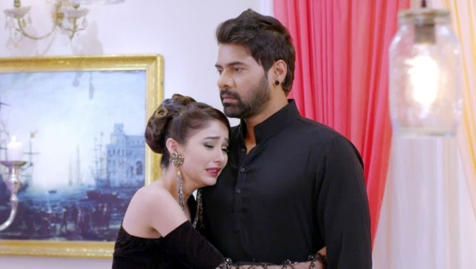 Abhi and Tanu from Kumkum Bhagya