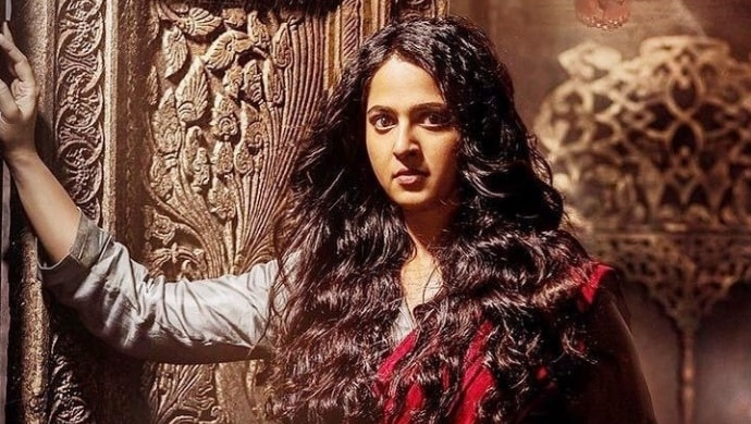 Anushka Shetty in a scene from Bhaagamathie film