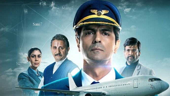 Arjun Rampal, Sakshi Tanwar, Jaaved Jaaferi in The Final Call