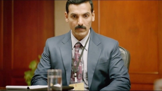 John Abraham as Ashwat Raina from Parmanu