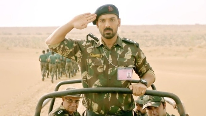 John Abraham in a scene from Parmanu