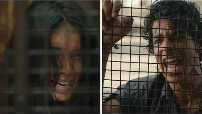 Malavika Mohanan and Ishaan Khatter in a scene from Beyond The Clouds