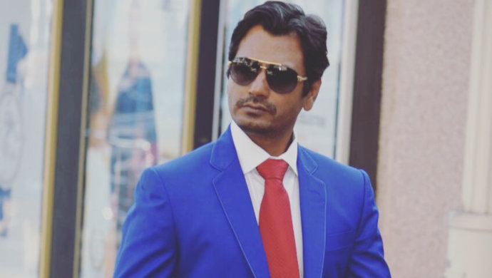 Nawazuddin Siddiqui in blue suit