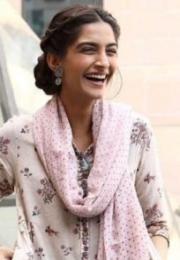 Sonam Kapoor in a still from Pad Man