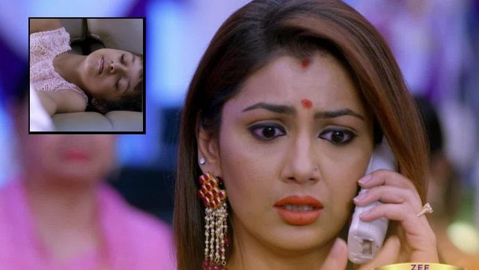 Sriti Jha in an episode from Kumkum Bhagya