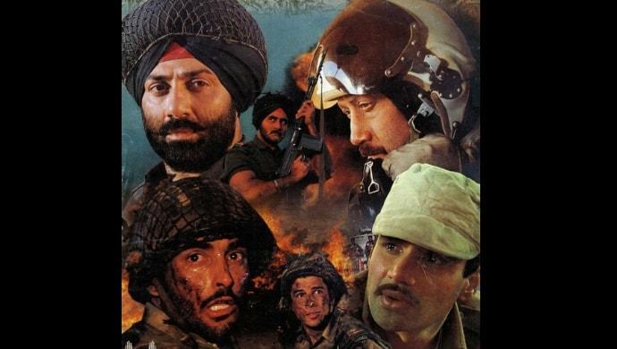 Sunny Deol, Akshaye Khanna, Suniel Shetty in Border