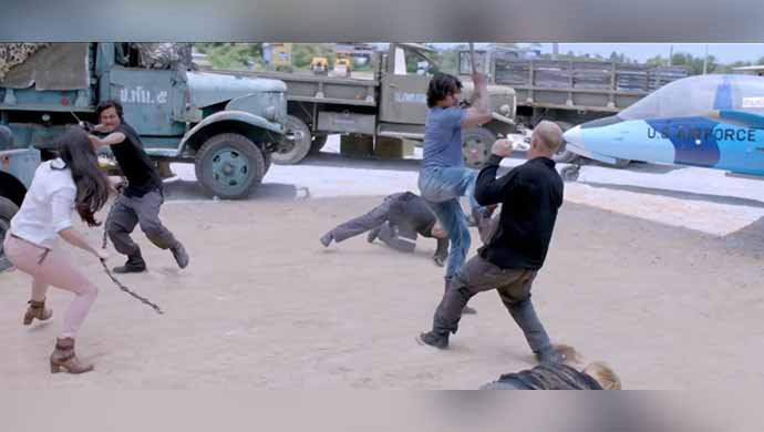 Vidyut Jammwal And Adah Sharma In An Action Scene From The Film
