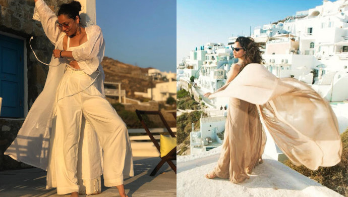 ankita lokhande for a photoshoot in greece