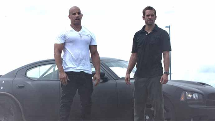The Fast And The Furious Series Starring Vin Diesel And Paul Walker