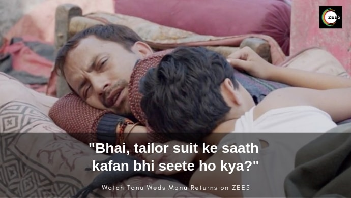 Pappi's funny scene from Tanu Weds Manu Returns