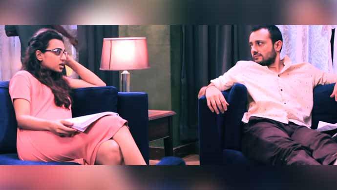 Radhika Apte And Satyadeep Mishra From Behind The Scenes Of Phobia
