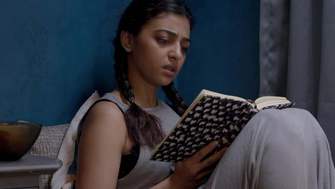 Radhika Apte In A Scene From Phobia