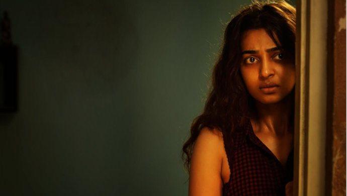 Radhika Apte In A Scene From Phobia