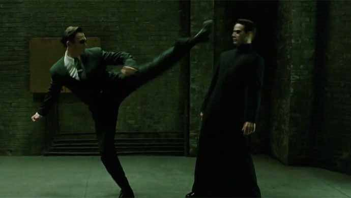 The Matrix Series Starring Keanu Reeves