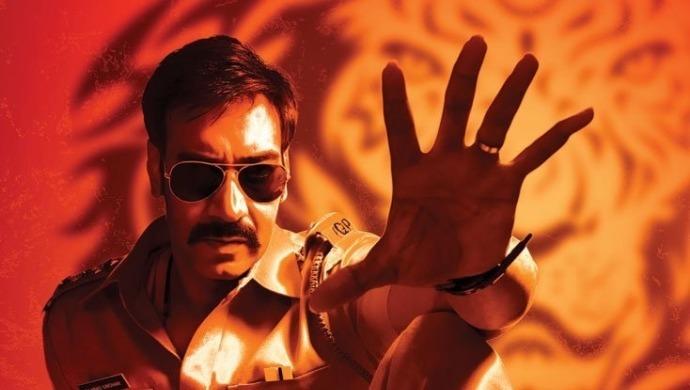 Ajay Devgn in and as Singham
