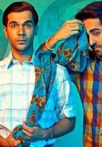 Ayushmann Khurrana, Kriti Sanon and Rajkummar Rao in Bareilly ki Barfi poster