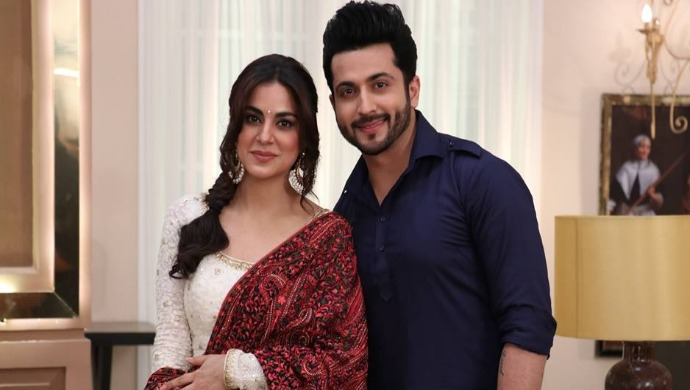 A Profile Picture Of Kundali Bhagya Actors Shraddha Arya And Dheeraj Dhoopar