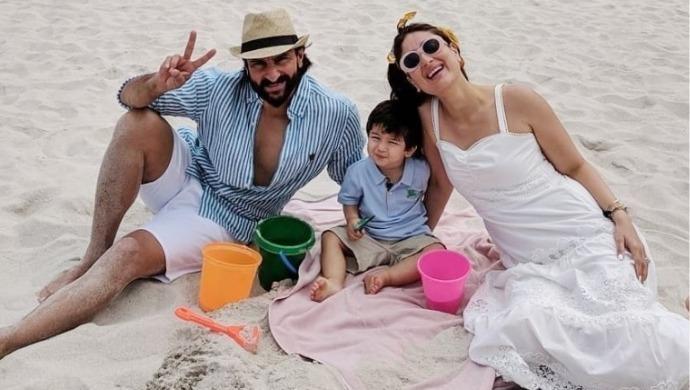 Kareena Kapoor Saif Ali Khan Taimur in South Africa