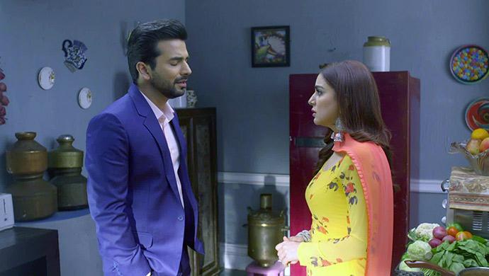 Still of Rishabh and Preeta