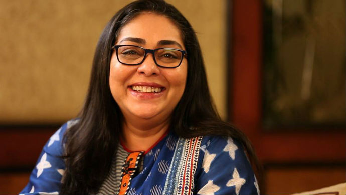 Profile Picture Of Bollywood Director Meghna Gulzar