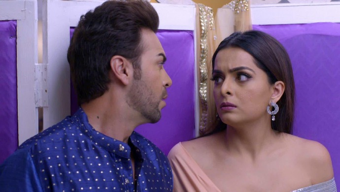 A Still From Kundali Bhagya Starring Sherlyn And Prithvi