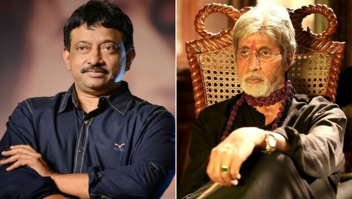 Ram Gopal Varma and Amitabh Bachchan in a still from Sarkar 3