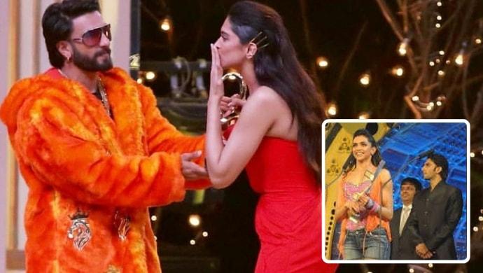 Ranveer Singh, Deepika Padukone at Zee Cine Awards