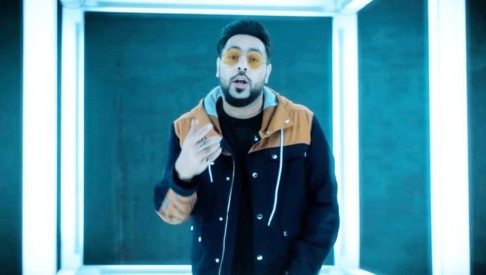 Rapper Badshah in a still from Proper Patola song