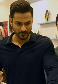 Sandeepa and Kunal in a scene from Abhay