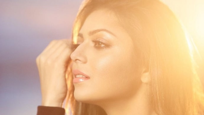A closeup picture from Drashti Dhami's photoshoot
