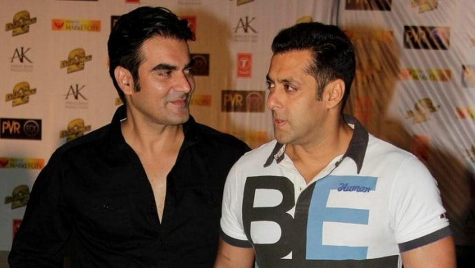 Arbaaz Khan with Salman Khan