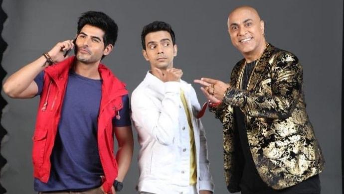 Baba Sehgal, Rishab Chadha and Omkar Kapoor in Bhoot Purva