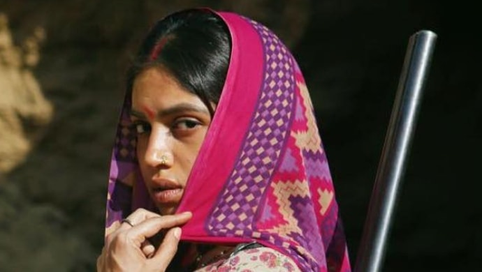 Bhumi Pednekar in a still from Sonchiriya