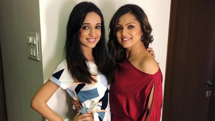 Drashti Dhami with her BFF Sanaya Irani
