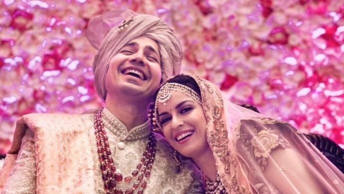 Ekta Kaul - Sumeet Vyas' wedding