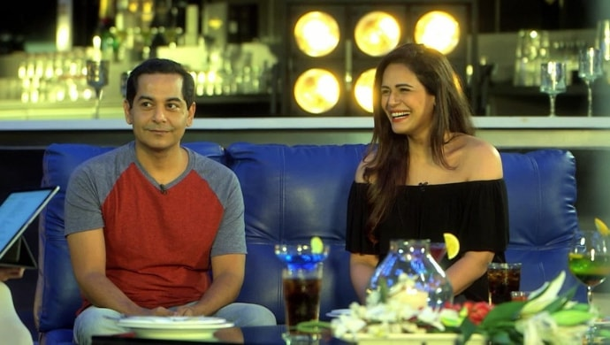 Gaurav Gera and Mona Singh on A Table for Two